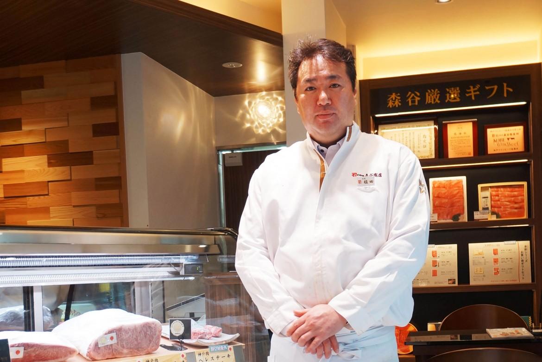 神戸で華めくわがまち老舗プロジェクトサイト:森谷商店 元町本店 店主の写真