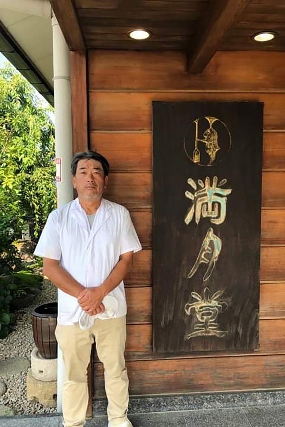 神戸で華めくわがまち老舗プロジェクトサイト:満月堂店主の写真