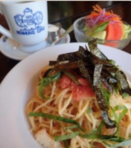 須磨海苔たらこスパゲッティ