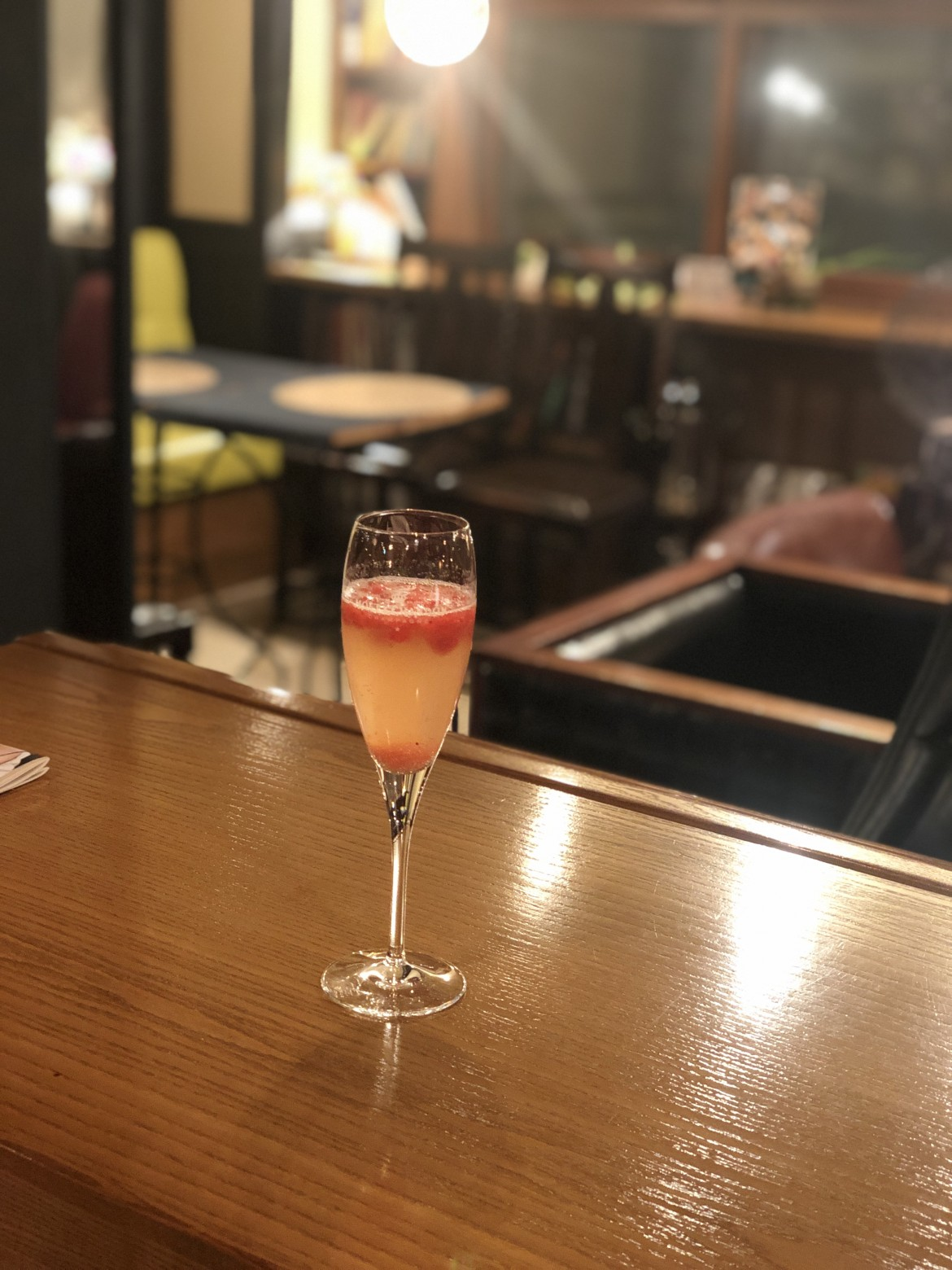 イチゴのシャンパンソルベ