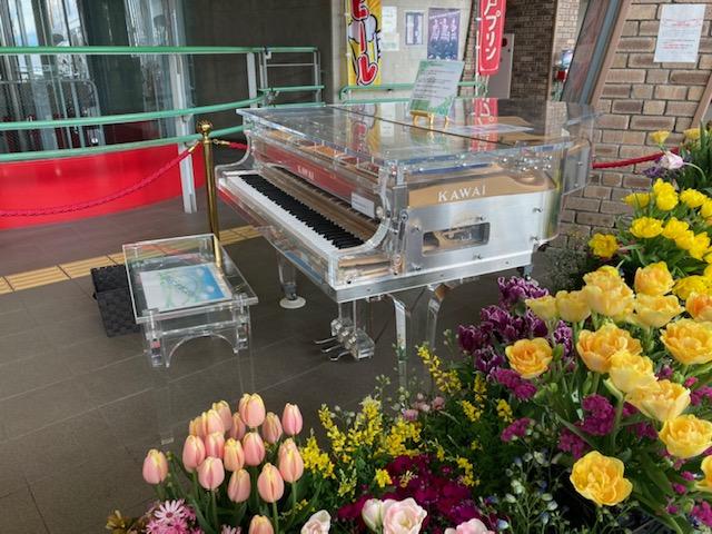 ストリートピアノと奏でる神戸花物語2021春 Flower & Music