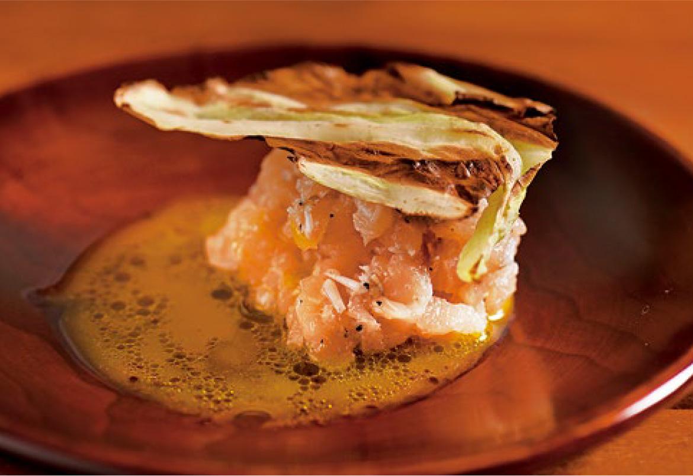 須磨シラスと鶏のタルタル